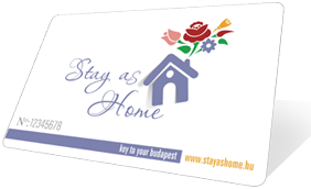 Stay As Home card